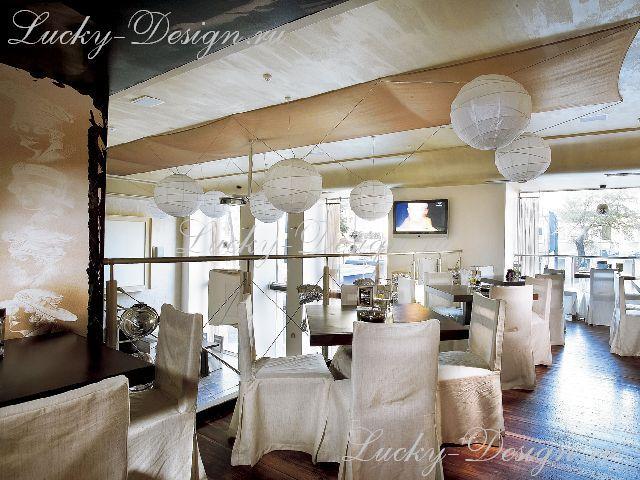 шторы ресторан фото
