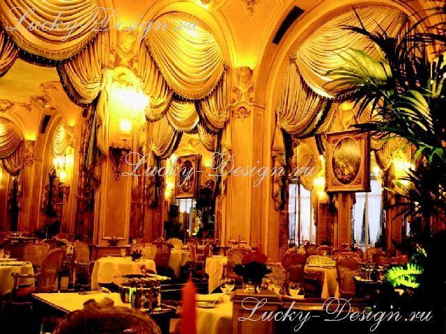шторы в ресторанах фото