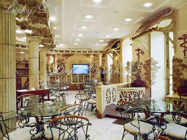 шторы в ресторане фото