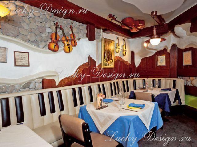 занавески для ресторана фото