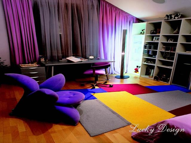 комната в стиле экспрессионизм