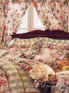 готовые шторы в стиле барокко