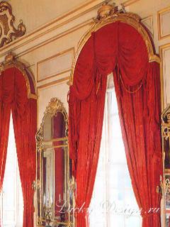 спальни в стиле рококо
