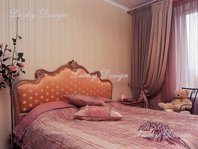 Спальня в венецианском стиле