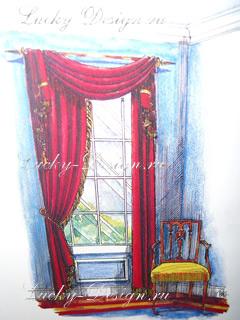 шторы в классическом стиле