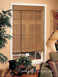 жалюзи рулонные бамбуковые