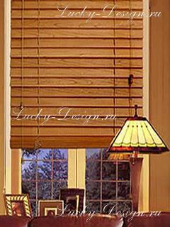 бамбуковые шторы на двери
